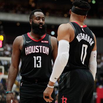 Houston Rockets Harden Westbrook