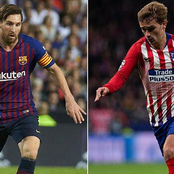 Messi en Griezmann