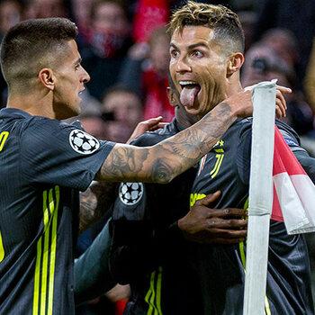 Ajax - Juventus Ronaldo