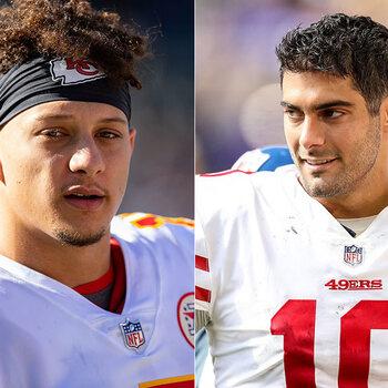 Super Bowl LIV Kansas City Chiefs San Francisco 49ers Mahomes Garoppolo