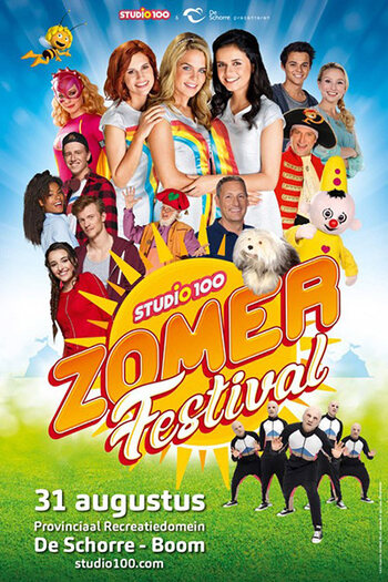 Studio 100 Zomerfestival, met Marie Verhulst en James Cooke!