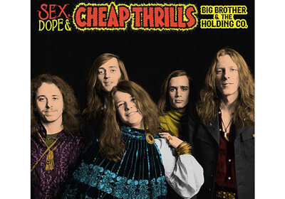 Win Sex, Dope And Cheap Thrills van Big Brother & The Holding Company op dubbelcd of LP!