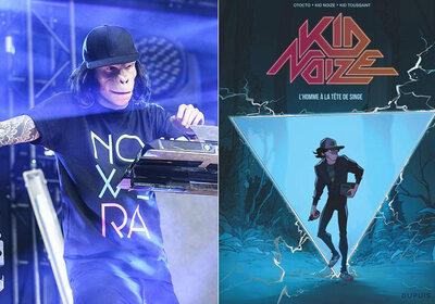 Gagnez votre exemplaire de The Man with a Monkey Face de Kid Noize!
