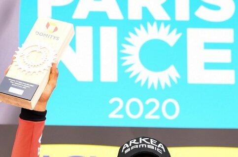 Nairo Quintana aangereden op training