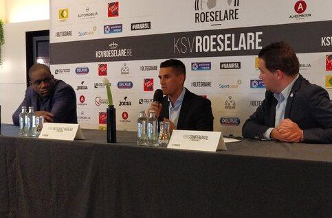 """Juan Gutiérrez Moreno (KSV Roeselare): """"Verder bouwen op het goede werk van de technische staf"""""""