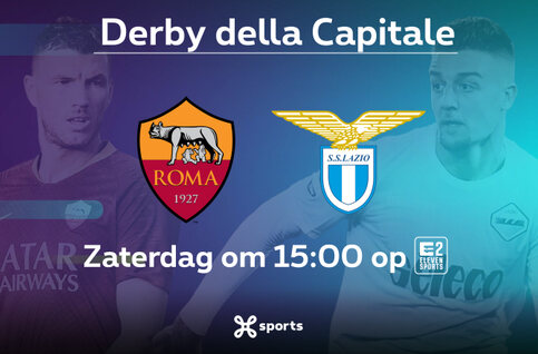 Romeinse derby in de Serie A