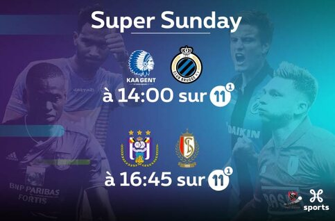 Jupiler Pro League : Anderlecht - Standard et Gand - Club Bruges, chocs en pagaille