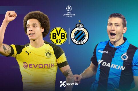 Ligue des champions : le Club Bruges peut-il créer l'exploit face au Borussia Dortmund ?