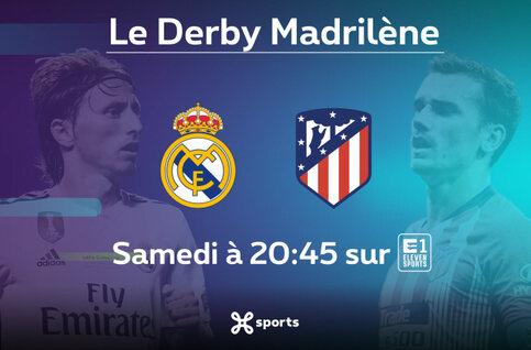 Liga : Real Madrid - Atlético de Madrid, derby incandescent