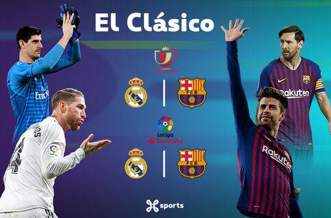Clasico: Kan Real Madrid meteen revanche nemen op Barça?