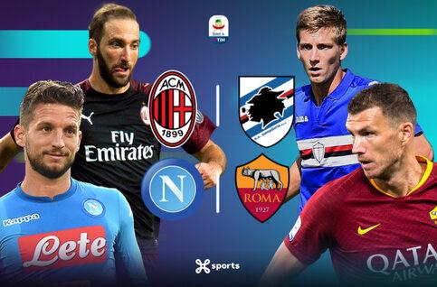 Un dimanche de folie en Serie A !