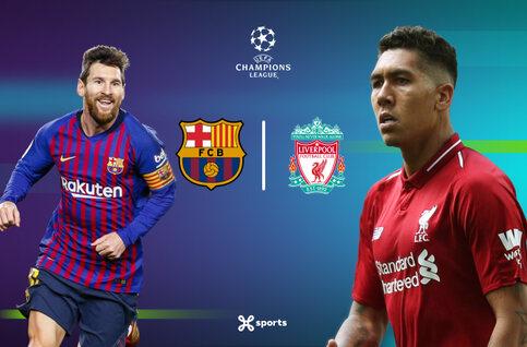 UEFA Champions League: Barcelona - Liverpool, finale avant la lettre