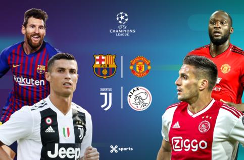 L'Ajax en danger à Turin et ManU croit à une remontada face au Barça !