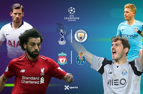 Ligue des champions : Tottenham - Manchester City et Liverpool - Porto au programme des 1/4 de finale !