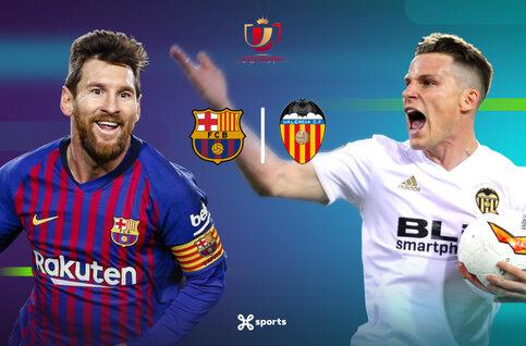 Copa del Rey : Valence peut-il empêcher le le Barça de réaliser le doublé ?
