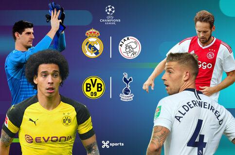 Dortmund et l'Ajax veulent renverser Tottenham et le Real Madrid !