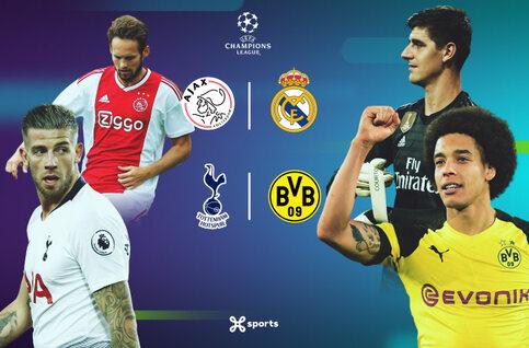 1/8ème de finale de la Ligue des champions : place à l'offensive avec Tottenham - Dortmund et Ajax - Real Madrid !