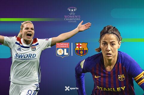 Bekijk de finale van de UEFA Women's Champions League live