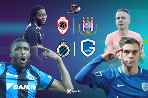 Super Sunday avec Genk - Club Bruges et Antwerp - Anderlecht en direct sur Proximus TV !
