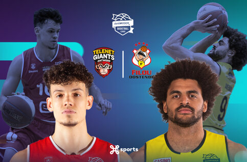Antwerp Giants - BC Oostende live op Proximus TV