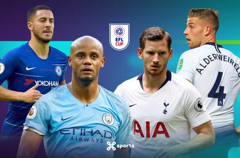 Bekijk de kwartfinales van de League Cup live op Proximus TV