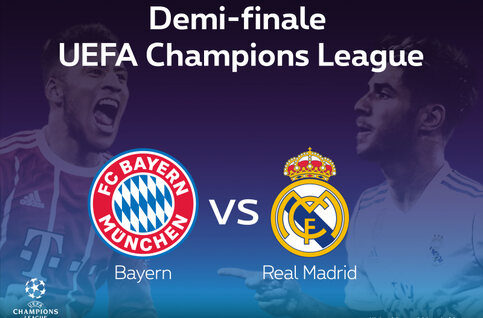 Ligue des champions : Bayern Munich - Real Madrid, demi-finale royale