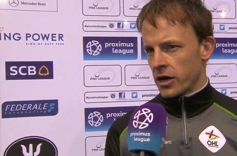 Trainer Vincent Euvrard (OH Leuven) nog niet bezig met volgend seizoen