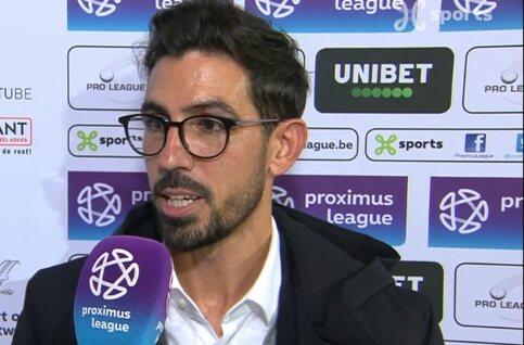 Losada slijpt 'basics' weer in zijn elftal; Topmöller vond dat Virton meer had verdiend