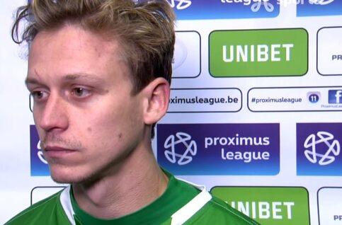 """Ref Vergoote de gebeten hond na KVM - Lommel: """"En dan voor de match zagen over wat wit aan de kousen"""""""