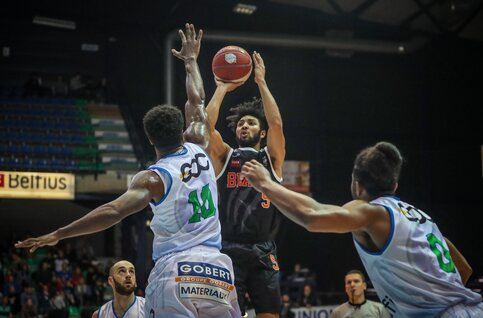 Leuven Bears – Antwerp Giants, l'affiche à suivre sur Proximus Sports