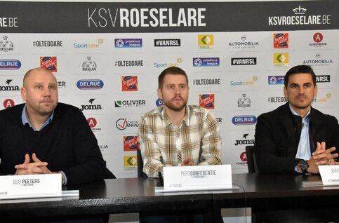 """Westerlo-coach Bob Peeters: """"Zelfs al halen we 0 punten in Play-off 2, ons seizoen is geslaagd"""", Roeselare richting degradatiestrijd"""