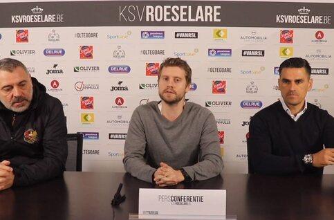 Bracconi (AFC Tubize) en Juanito (KSV Roeselare) lijken de eer aan zichzelf te houden