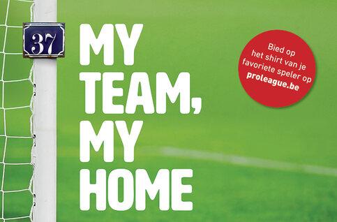 Kerstactie Pro League ten voordele van Belgian Homeless Cup