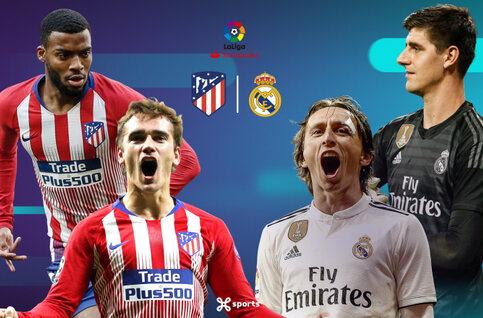 Hoogspanning in Madrid met de derby Atlético - Real