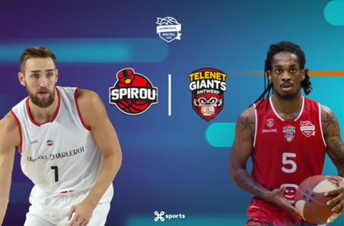 Suivez Spirou Charleroi - Antwerp Giants en direct sur Proximus TV !