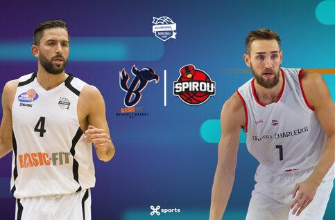 Suivez la rencontre Brussels - Spirou Basket en direct sur Proximus TV !