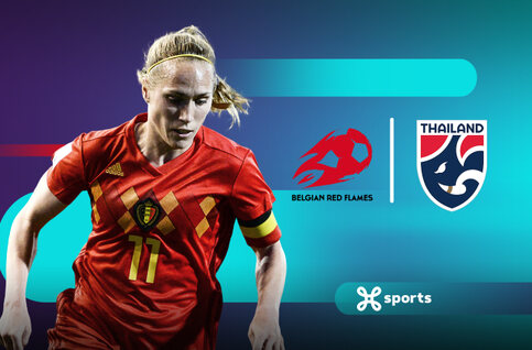 Bekijk de vriendschappelijke wedstrijd van de Red Flames tegen Thailand live