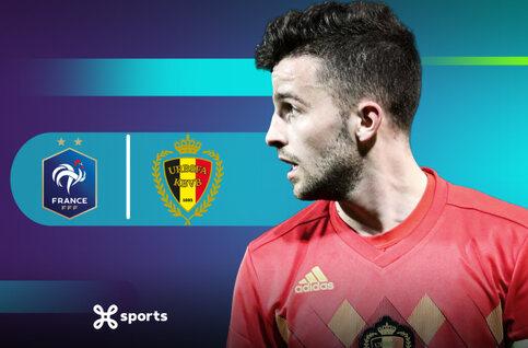 Bekijk de vriendschappelijk wedstrijd van de beloften tegen Frankrijk live