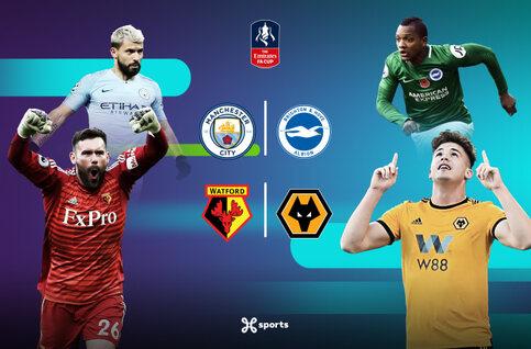 Bekijk de halve finales van de FA Cup live op Proximus TV