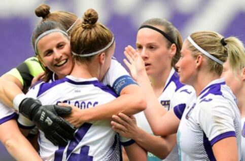 Regardez en direct le 1/16 de finale de l'équipe féminine d'Anderlecht en Champions League