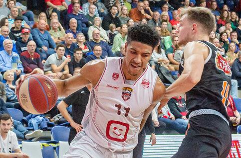 Charleroi - Antwerp Giants live op Proximus Sports