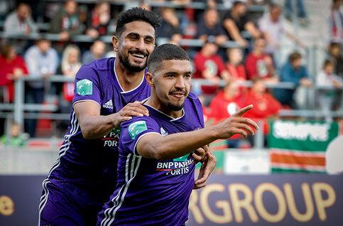 Zakaria Bakkali is de speler van de maand oktober bij Anderlecht