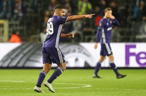 Zakaria Bakkali est le joueur du mois d'octobre à Anderlecht !
