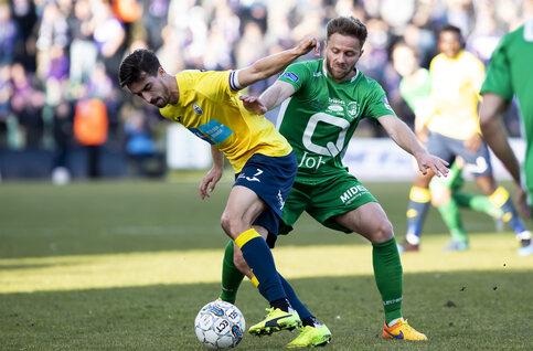 Proximus League-elftal van het seizoen // DRIEHOEK MIDDENVELD // Robin Henkens (Lommel SK)