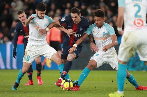 PSG klopt Marseille maar ziet Meunier uitvallen