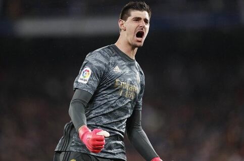 Hoe 'El muro' Courtois een belangrijk aandeel heeft in potentiële 34ste titel Real Madrid