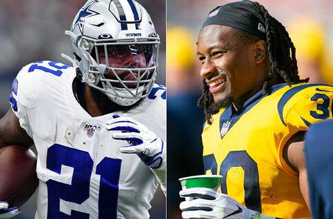 NFL: duel op scherp van de snee tussen Cowboys en Rams op zondag