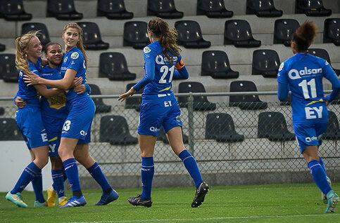 Bekijk de bekerfinale tussen KAA Gent Ladies en Standard Fémina live
