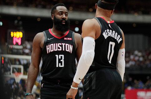Les Rockets et son duo Harden-Westbrook s'invitent chez vous à deux reprises cette semaine en NBA