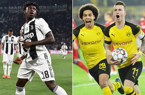 Bayern - Dortmund, Juventus - AC Milan et Barcelone - Atlético de Madrid : suivez en direct la lutte pour le titre en Europe !